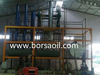 Satılık Sıfır Madeni Atık Yağ Geri Dönüşüm Tesisi 20 Ton / Gün Fiyatları Edirne madeni atık yağ geri dönüşüm tesisi, atık yağ arıtma,thin film evaparatör