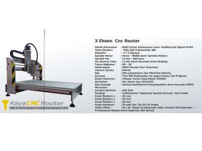Satılık İkinci El Ultra Kaliteli Hızlı Ve Usb Bağlantılı 1.5kw Spındle Cnc Fiyatları İstanbul CNC ROUTER,cnc router, ahşap işleme,metal işleme,muğla cnc,
