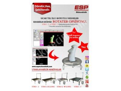 Satılık Sıfır 3D Rotater Fiyatları Bursa 3Drotater, döner tabla, cnc kesim, strafor