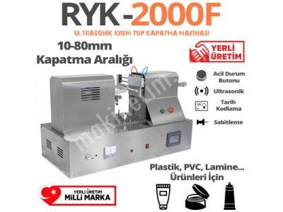 Ultrasonik Krem Tüp Kapatma Makinası (Yerli Üretim)