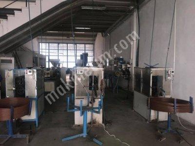 Satılık Sıfır boru makinası 3 hat yeni model Fiyatları İstanbul elektrik boru makinası, kangal boru makinası, boru makinası
