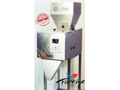Satılık Sıfır Renas T125 Terazili Dolum Makinası +Pedallı Poşet Yapıştırma Makinası Fiyatları İstanbul dolum makinası,dolum makinaları,sıvı dolum makinası,dolum makineleri,