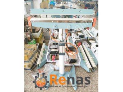 Satılık Sıfır KS-F600 P Pnomatik Pedallı Poşet Yapıştırma Makinası Fiyatları Denizli poşet yapıştırma,pedallı poşet yapıştırma,poşetleme makinası,poşet ağzı kapatma,
