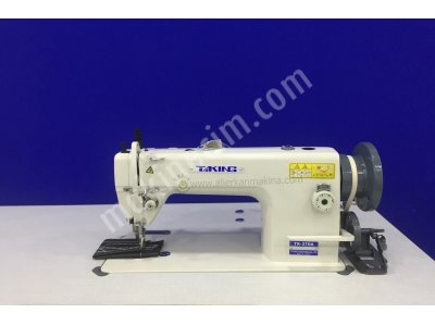Satılık Sıfır TK-370-A 12 mm Çift Pabuç Tek İğne Deri Döşeme Dikiş Makinası Fiyatları İstanbul TK-370-A 12 mm Çift Pabuç Tek İğne Deri Döşeme Dikiş Makinası
