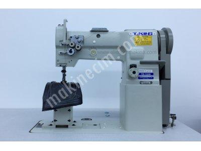 Satılık Sıfır TK-1248 Sütunlu Çift Pabuç Çift İğne Deri Dikiş Makinası Fiyatları Konya TK-1248 Sütunlu Çift Pabuç Çift İğne Deri Dikiş Makinası