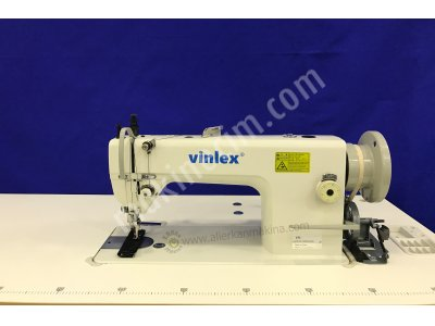 Vx-0303 12 Mm Çift Pabuç Tek İğne Deri Döşeme Dikiş Makinası