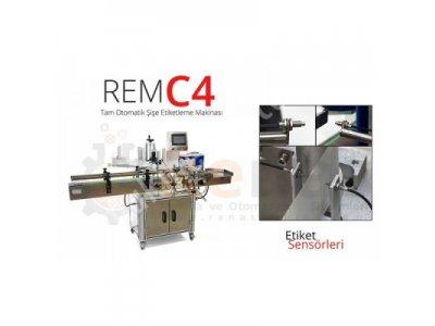 Satılık Sıfır Renas REM-C4 Tam Otomatik Şişe Etiketleme Makinası Fiyatları İstanbul etiketleme makinası,etiketleme makinesi,etiketleme makinaları,etiketleme makineleri,otomatik etiketleme makinası,otomatik etiketleme,