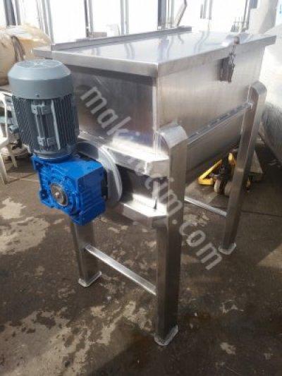 Satılık Sıfır Paslanmaz Toz Yem Baharat Granül Karıştırıcı mikseri Fiyatları İstanbul Paslanmaz toz karıştırıcı mikser toz makinasi yatay karistirici