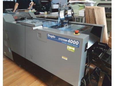 Satılık İkinci El Duplo 4000 System Fiyatları Bursa yılmaz ofset