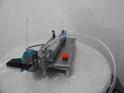 Satılık Sıfır Pnömatik 20 Ml - 100 Ml Dolum Makinası 2 Yıl Garanti Sıfır Hs Makina Fiyatları  dolum makinası