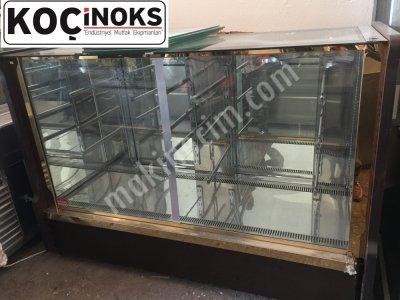 Satılık İkinci El soğuk pasta teşhir dolabı Fiyatları Konya satılık 2. el teşhir dolabı