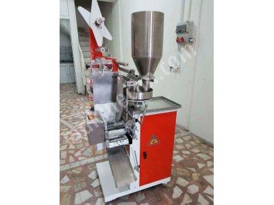 Satılık 2. El Demlik poşet çay dolum makinesi Fiyatları Gaziantep Sallama çay paketleme makinesi