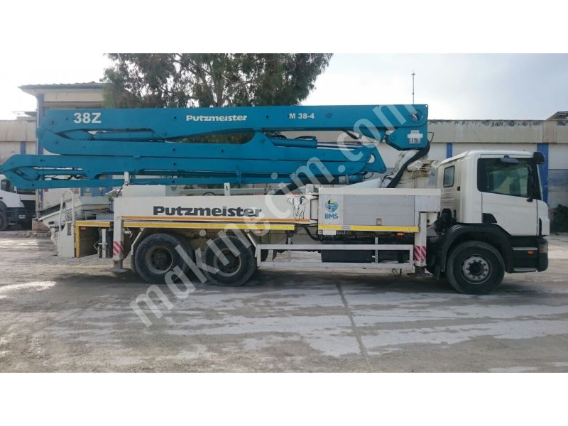 Used putzmeister Z38 concrete pump For Sale 2nd Hand Price : Ask For
