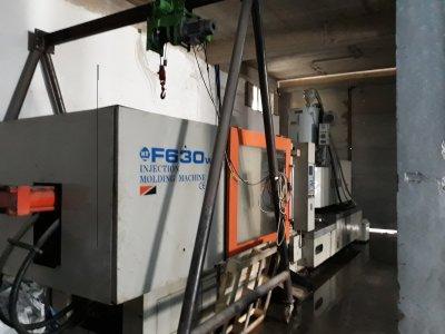 Satılık 2. El 630 Ton Enjeksiyon Makinasi Fiyatları İstanbul Temiz kullanılmış enjeksiyon makinasi