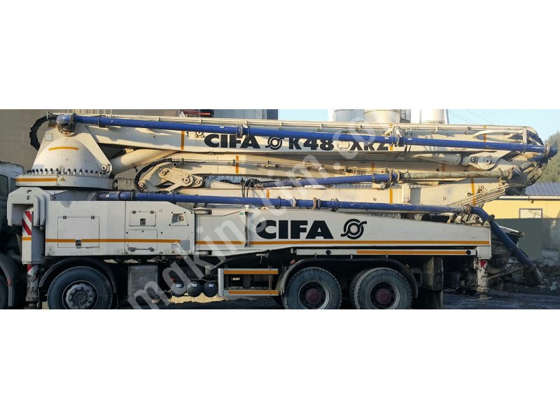 used cifa 48 mt concrete pump For Sale 2nd Hand Price : Ask For