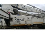 used cifa 38 t concrete pump