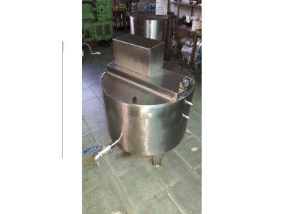Satılık İkinci El Süt Pişirme Kazanı 250 Kg Kapasiteli 5.000 Tl Fiyatları İstanbul DONDURMA,MAKİNA,KAZAN,YOĞURT