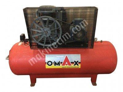 Satılık Sıfır Omax 500Lt 8bar Kompresör Fiyatları Konya Omax 500Lt 8bar Kompresör