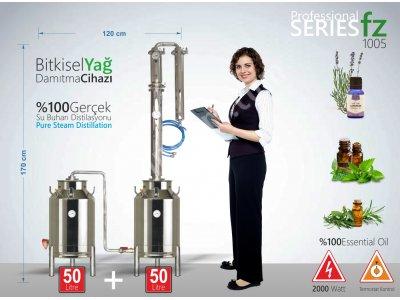 Satılık Sıfır TAM FABRİKASYON BİTKİSEL YAĞ DAMITMA CİHAZI FZ-1005 | İMBİK | 50 +50 LİTRE Fiyatları Ankara bitkisel yağ,imbik,esansiyel yağ,uçucu yağ,damıtma,damıtma cihazı