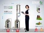 Tam Fabrikasyon Bitkisel Yağ Damıtma Cihazı Fz-1005 | İmbik | 50 +50 Litre