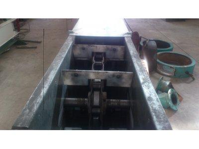 Satılık Sıfır Zincirli Konveyör Fiyatları Konya taşıyıcı,zincirli konveyör,chain konveyor,helezon,screw conveyor