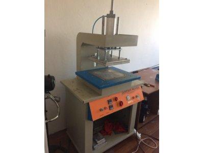 Satılık İkinci El Gofre Baskı Makinesi + Kompresör Fiyatları  Gofre Baskı Makinası