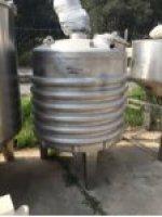 1000 Litre Reaktör Satılık Acil Karıştırıcı Paslanmaz