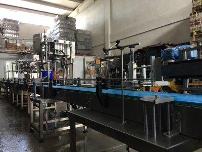 Satılık 2. El 1 , 18 Lt Teneke Dolum Tam Otamatik Fiyatları İstanbul Sıvı dolum yağ loadcell