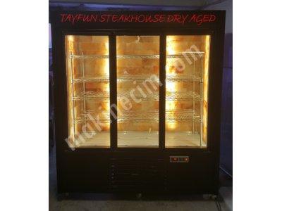 Satılık Sıfır DUVAR TİP ET DİNLENDİRME DOLABI - 3 KAPILI Fiyatları İstanbul duvar tip dry aged dolabı, dryage dolapları, dry age dolap fiyat, et çürütme dolabı, et dinlendirme vitrini