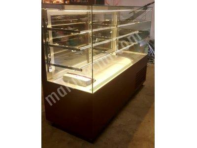 Nem Alma Sistemli Çikolata Vitrini / Çikolata Teşhir Dolabı
