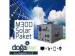 M300 Solar Tv + Aydınlatma Paketi - Dc Jeneratör
