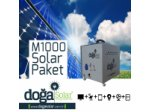 M1000 Solar Paket Tv + Aydınlatma - Dc Jeneratör