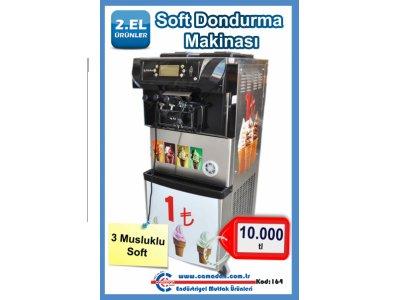 Satılık 2. El Soft Dondurma Makinası Caminox'dan Fiyatları  Soft Dondurma Makinası Caminox'dan