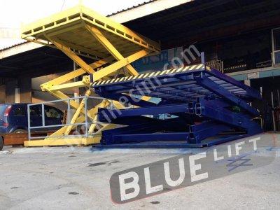 Yük Platformu İstif Makinesi Makaslı Lift