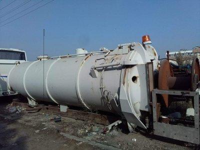 Satılık 2. El Vidanjör Kombine Kanal Acma Tanki Fiyatları Bursa Vidanjör kanal açma kuka kombine tank tikaniklik acma