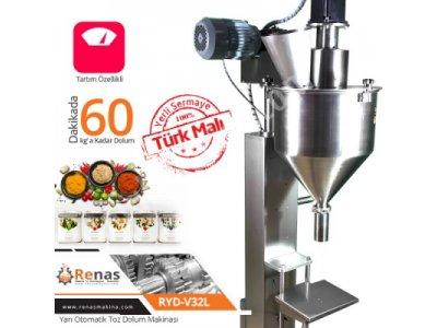 Satılık Sıfır Renas Yarı Otomatik Toz Dolum Makinası Fiyatları İstanbul toz dolum,toz dolum makinası,toz dolum makinesi,dolum makinası,
