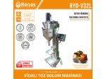 Yarı Otomatik Toz Dolum Makinası (YERLİ ÜRETİM)