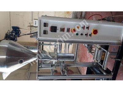 Satılık İkinci El Sahlep Dolum makinası Fiyatları Gaziantep Tozlu ürünler için dolum makina si