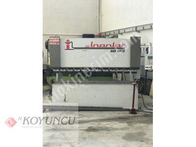 Satılık 2. El İNANLAR MARKA 2.5 MT X 4 MM (60 TON) ABKANT PRES Fiyatları Konya ABKANT PRESS