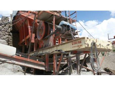 Satılık 2. El Acil Satılık Seyyar 90 Lık Konkasör Tesisi Fiyatları  acil , tessis , maden kırma , kum tesisi , konkasör