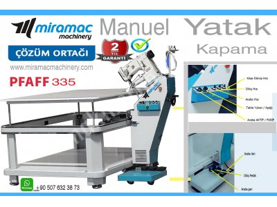 Manuel Tape Edge Machine