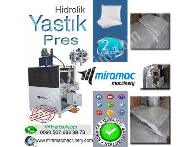 Yastık Yorgan Yatak Kılıfı Pres Paketleme Makinesi Hidrolik