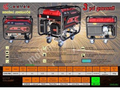 Satılık Sıfır 3,5 kW jeneratör Fiyatları Konya jeneratör