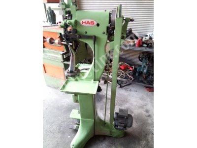 Satılık 2. El Has Marka Zincir Dikiş Fora Makinesi Ayakkabı Tamirci Makinaları Fiyatları Adana Has marka Zincir Dikiş Fora Makinesi Ayakkabı Tamirci Makinaları Akyol makina sanayi Metin Karaca Ayakkabı Tamirci Makinaları