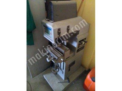 1500  Usdtekli Tampon Baskı Makinesi  (Otomatik Sistem) Sıfır Ayarında Ve Sıfır Gibi   1500