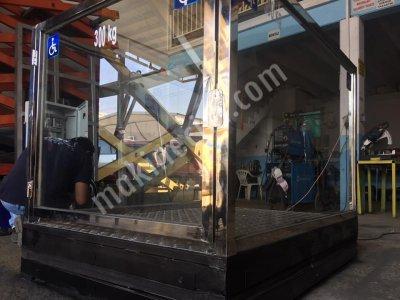 Satılık Sıfır ENGELLİ ASANSÖRÜ/PLATFORMU MAKASLI LİFT ÖZEL ÜRETİM Fiyatları İzmir engelli platformu, engelli asansörü,kaldıraç