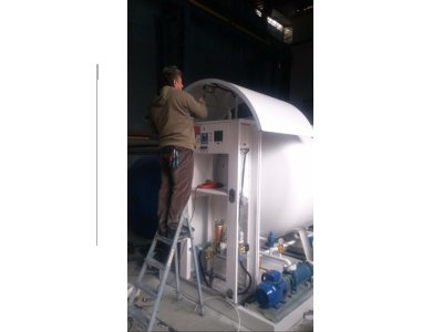 Lpg Skid System(autogas, Filling Scale)