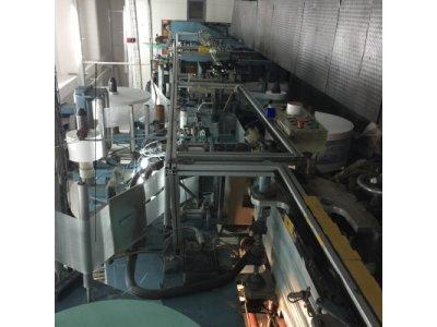 Satılık 2. El İtalyan Bebek Bezi Üretim Hattı 300/dk Fiyatları İstanbul bebek bezi üretim hattı, bebek bezi makinası , bebek bezi , bebek bezi fabrikası