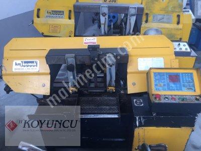 Satılık İkinci El KESMAK MARKA 280 LİK TAM OTOMATİK ŞERİT TESTERE Fiyatları Konya TESTERE