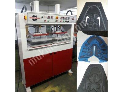Spor Ayakkabı Desen Basma Sıcak Soğuk Baskı Makinası Hidrolik Çiller Soğutmalı